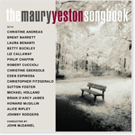 The Maury Yeston Songbook CD Image