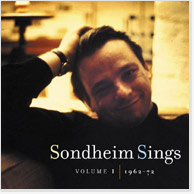Sondheim Sings, Volume I CD Image