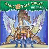 Magic Tree House: The Musical - World Premiere Cast Recording CD Image