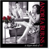 Andrea Burns: A Deeper Shade of Red CD Image