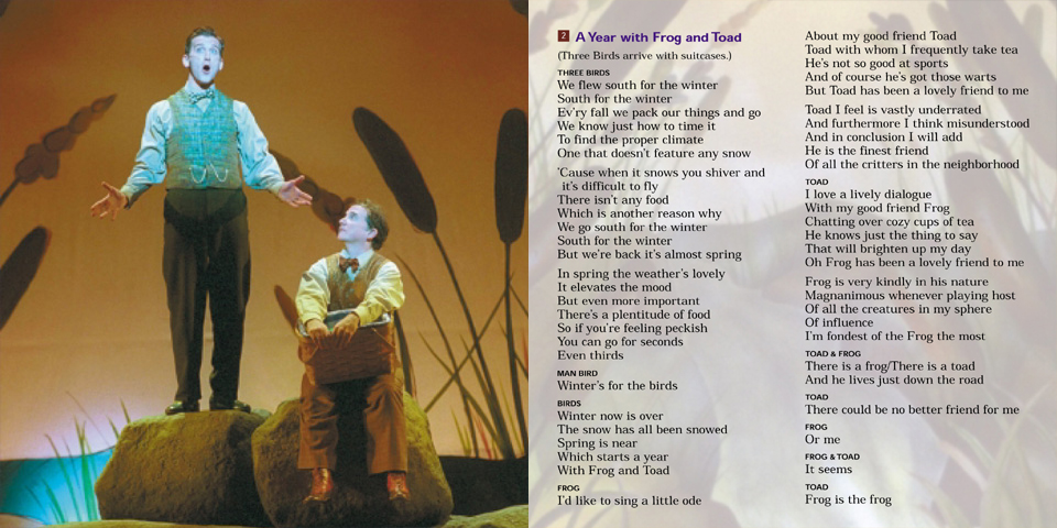 frog and toad lyrics 1