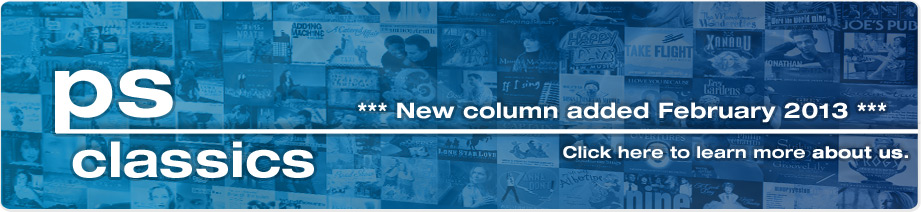 About Us - New column added February 2013